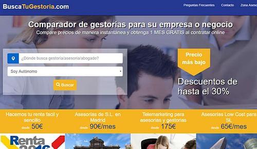 Comparador de Gestorias / Asesorías - Aplicación Web