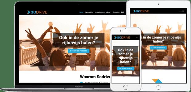 sodrive.nl - Webdesign + SEO