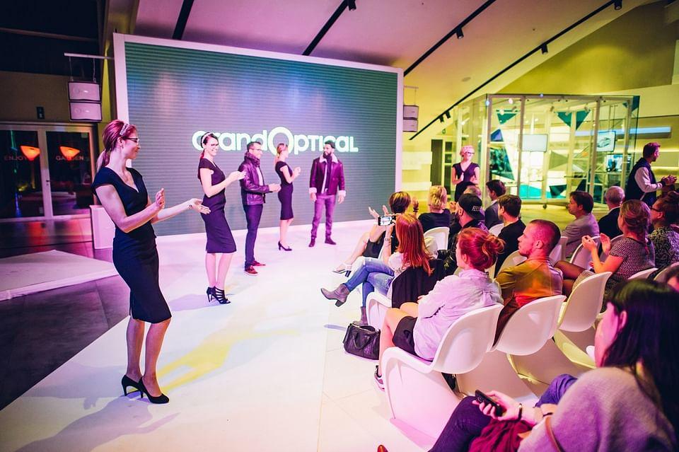 Grand Optical Press Fashion Event