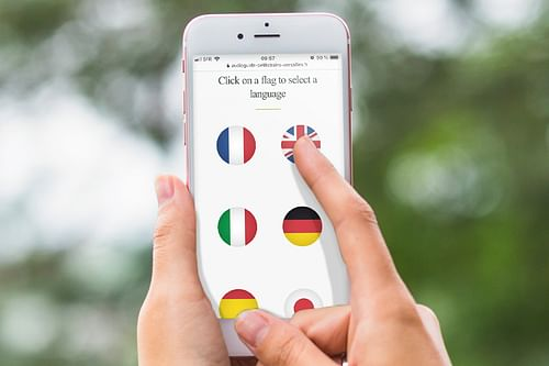 Web mobile pour les Petits Trains de Versailles - Création de site internet