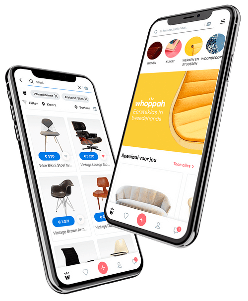 Whoppah - E-commerce Marketplace - Mobile App