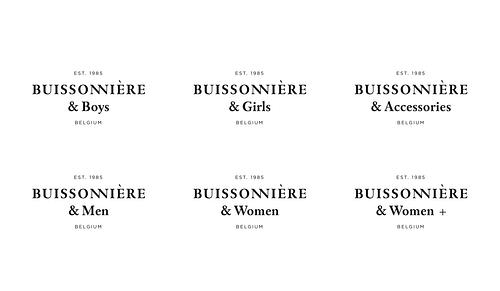 Brand identity for Buissonnière - Design & graphisme