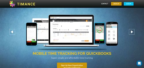 Time tracking system - Application mobile