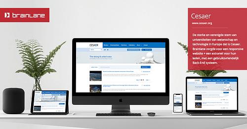 CESAER - Web Applicatie