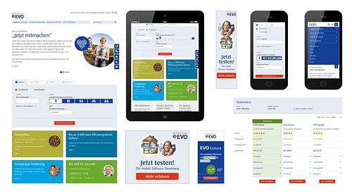 Energieversorgung Offenbach EVO - Relaunch Website - Webanwendung