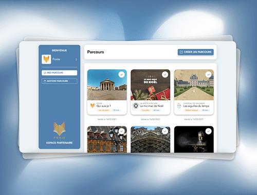 Foxie CMS | Application Web - Création de site internet