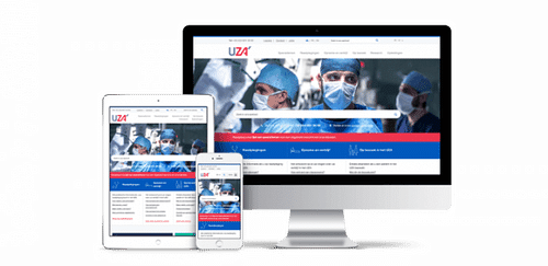 UZA - search results accuracy  from 55% to 91% - Création de site internet