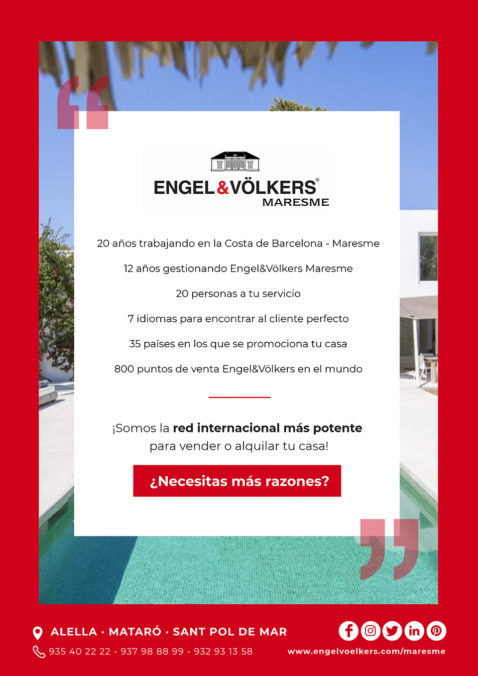 Gestion de la cuenta de Engel & Voelkers