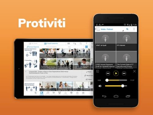Protiviti Mobiliti - Mobile App