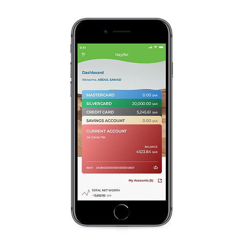 Nayifat – Financial ERP, Consumer Loan Services - Mobile App