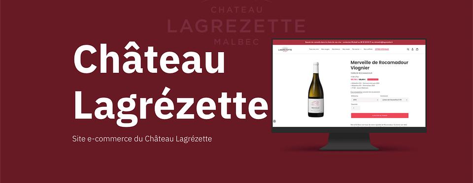 Site e-commerce Shopify - Château Lagrezette