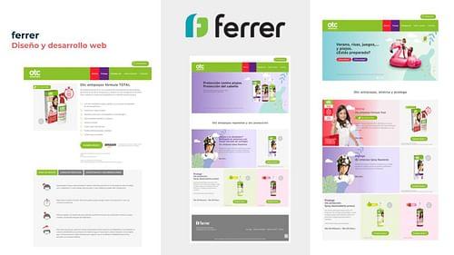 Diseño y desarrollo web - Creación de Sitios Web
