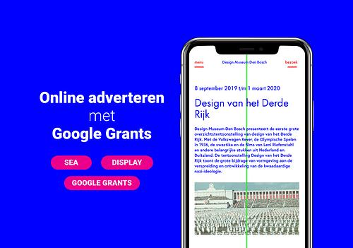 Design Museum - Online adverteren - Online Advertising