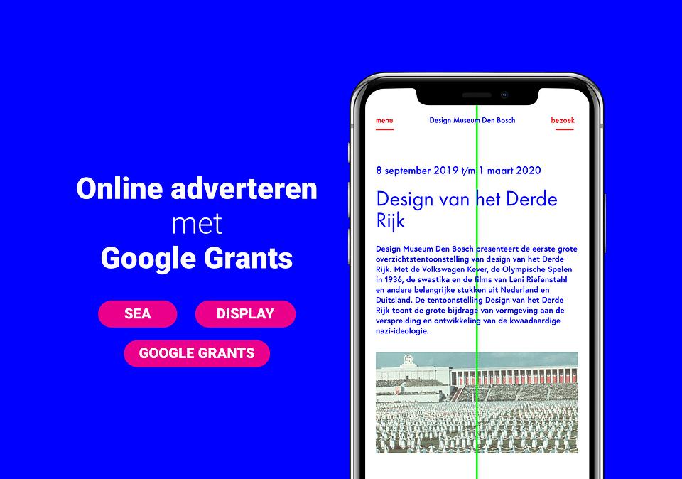 Design Museum - Online adverteren