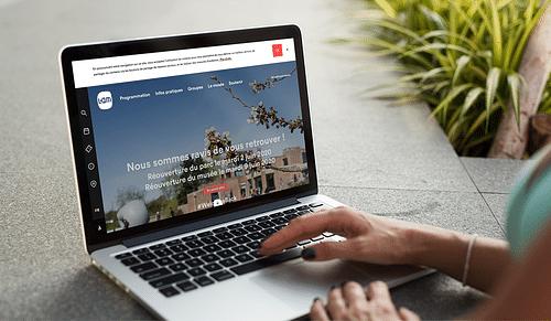 Refonte du Site du Musée du LaM - Création de site internet