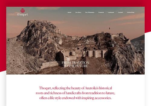 Thoqart - Website Creation