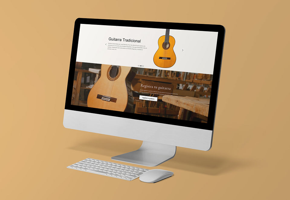Desarollo web y tienda online Guitarras Ramirez