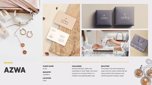 Azwa Rebranding - Online Advertising
