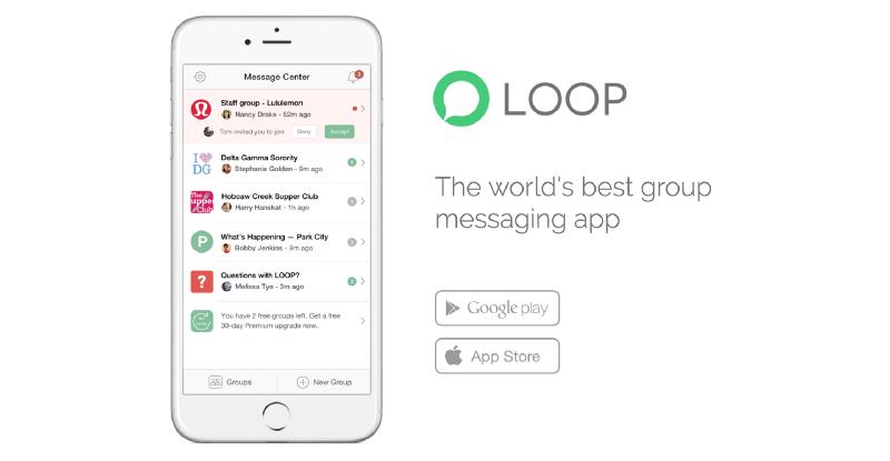 LOOP Messenger - Mobile App