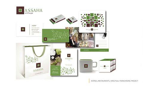 Assaha Traditional Village Full Branding