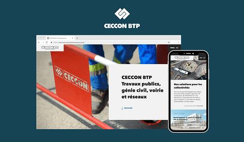 Création d'un site Internet - BTP