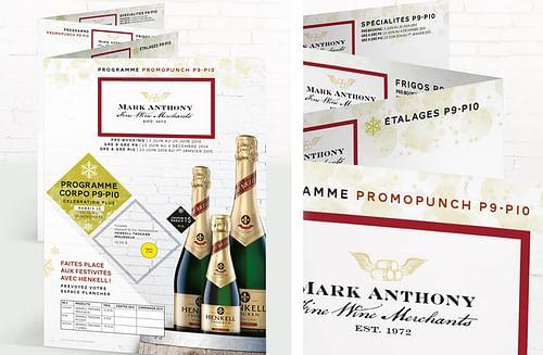 TCHIN À L'ÉQUIPE DE MARK ANTHONY - Branding & Positioning