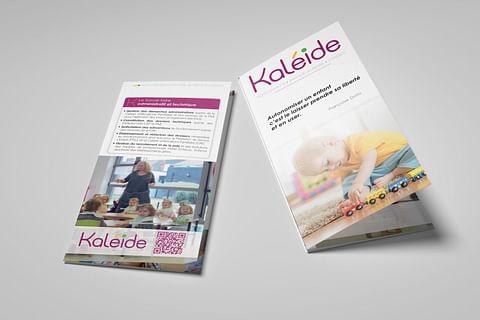 Plaquettes commerciales - Kaléide