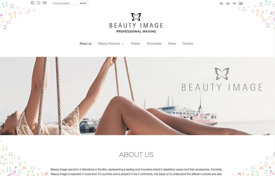 Estrategia Digital B2B para empresa Beauty Image