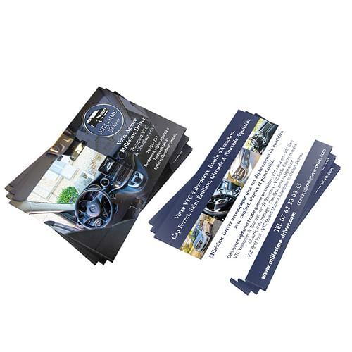 Flyer A6 présentation de services - Design & graphisme