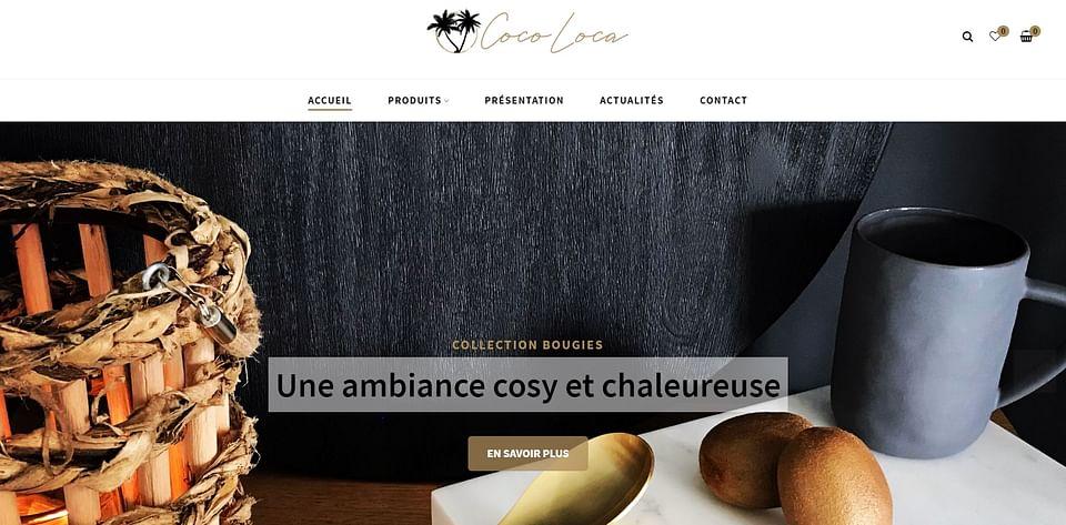 Création d'un site e-commerce Cocoloca