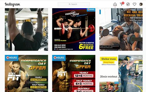 Social Media Marketing For Fitness Trainer - SEO