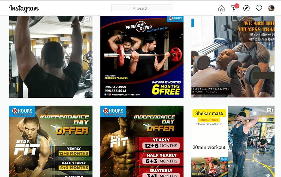 Social Media Marketing For Fitness Trainer