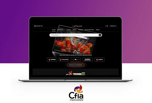 MyCfia.com - Plateforme web sur-mesure B to B - Création de site internet