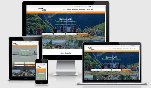 Pura Vida Nieuwe Website - Website Creatie