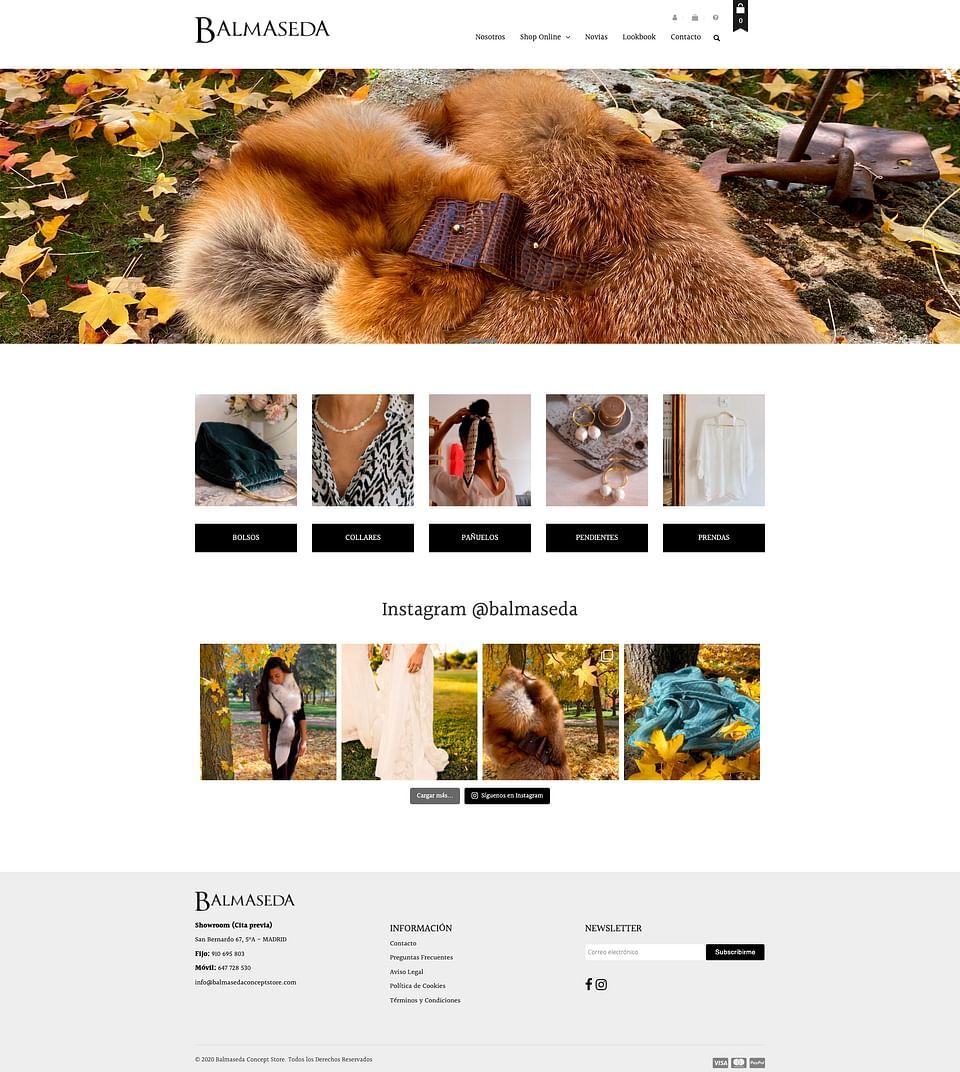 E-commerce Moda