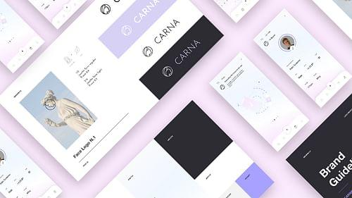 Carna - Branding & App development - Mobile App