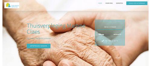 WEBSITE EN LOGO ONTWIKKELEN - THUISVERPLEGING - Website Creation