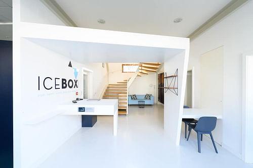 Identité Icebox centre de cryothérapie - Image de marque & branding