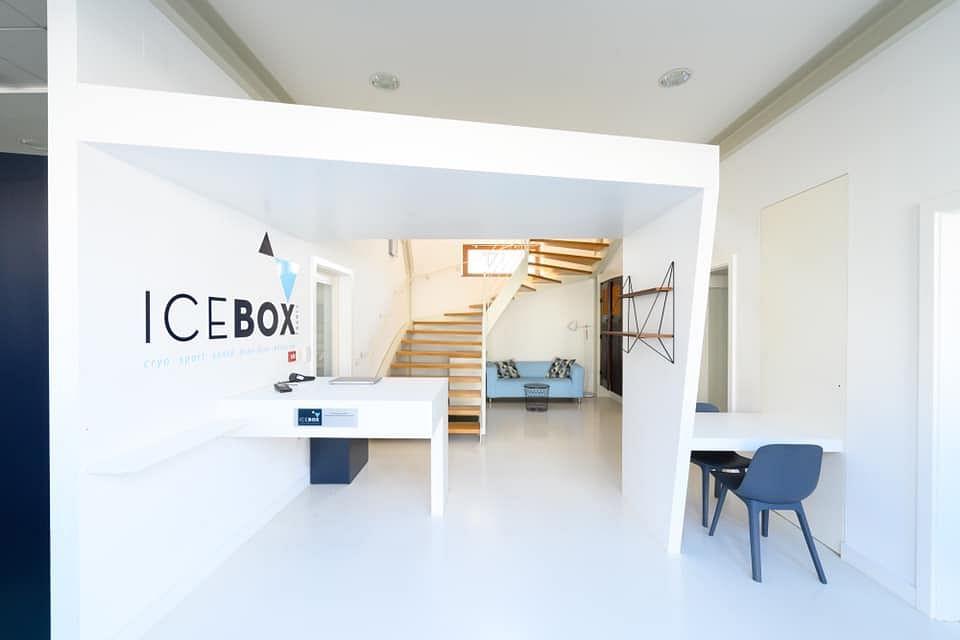 Identité Icebox centre de cryothérapie