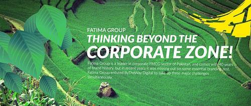 Fatima Group - Website Creation