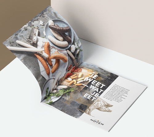 Noyen - Brochure, Copy,  Packaging, Namesearch - Image de marque & branding
