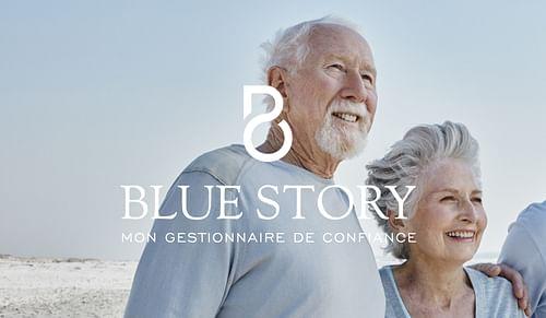 | BLUE STORY | - Design & graphisme
