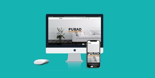 Firmenwebseite - Webanwendung