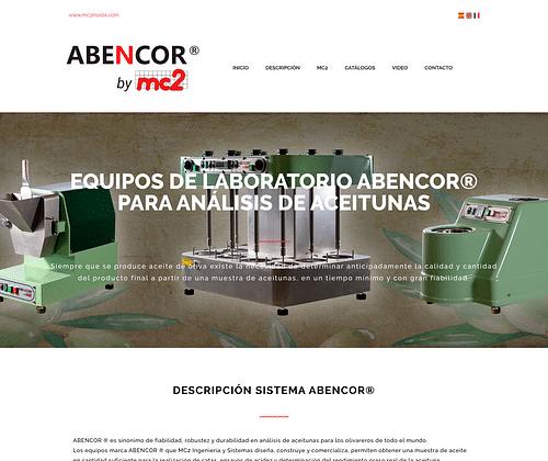 Website Abencor® - Creación de Sitios Web