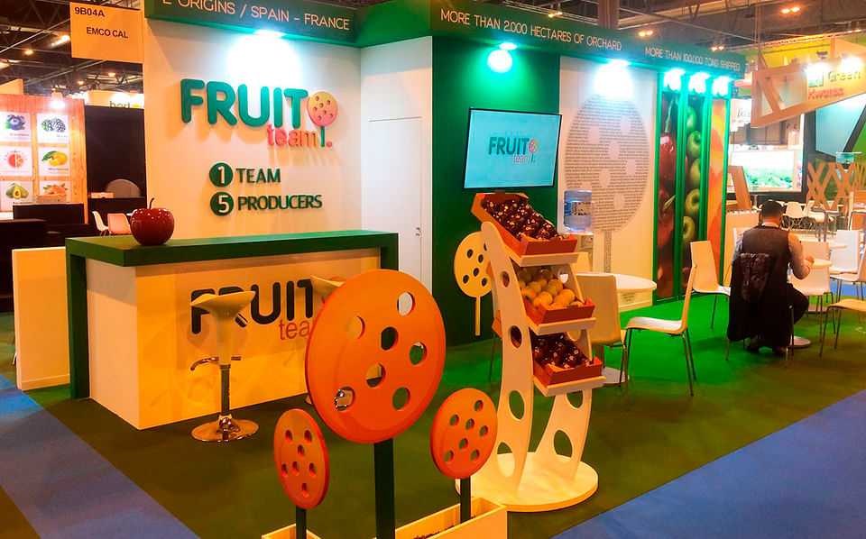 Diseño Stand IFEMA Fruit Team