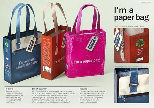 I'M A PAPER BAG - Advertising