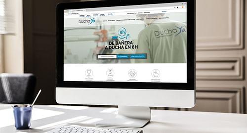 Sitio web DuchaYa - Creación de Sitios Web