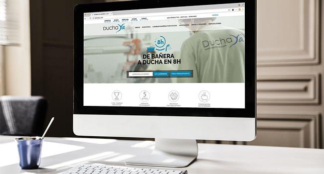 Sitio web DuchaYa