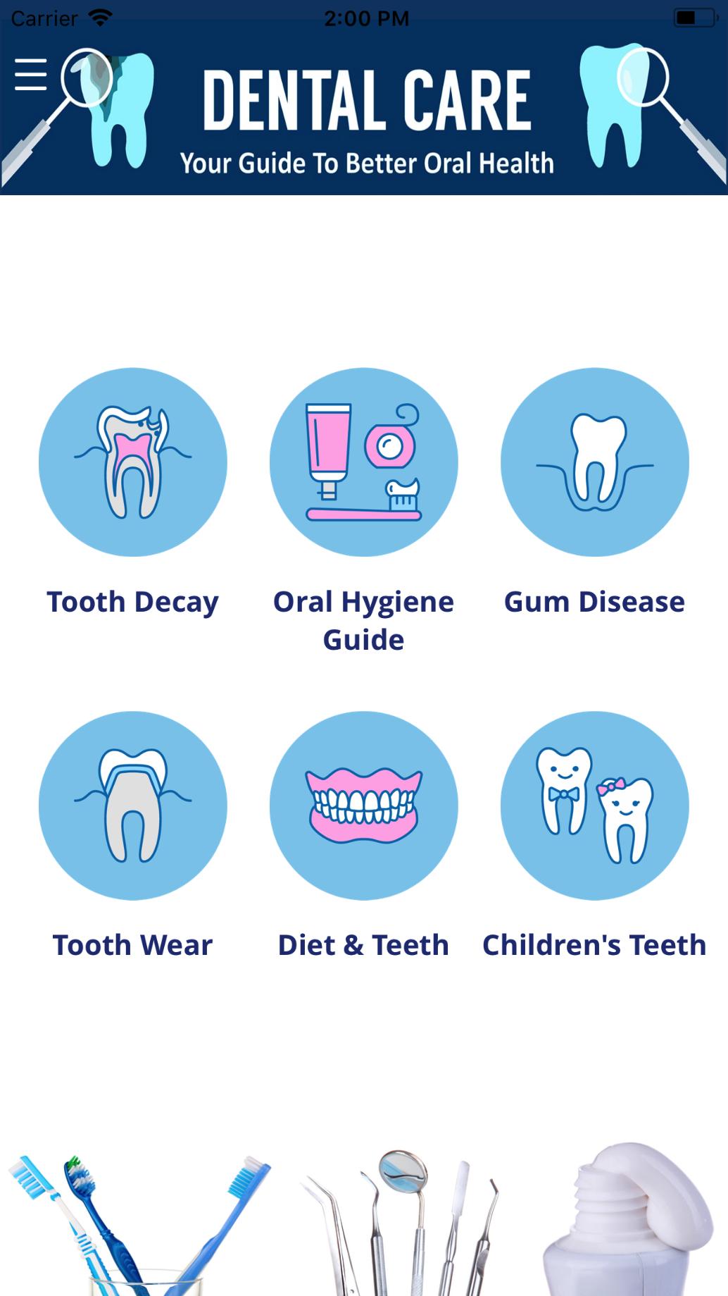 APP Development for Dental Care