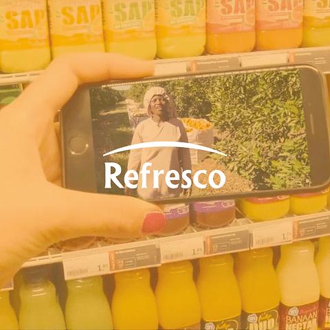 Comunicación integral y branding para Refresco